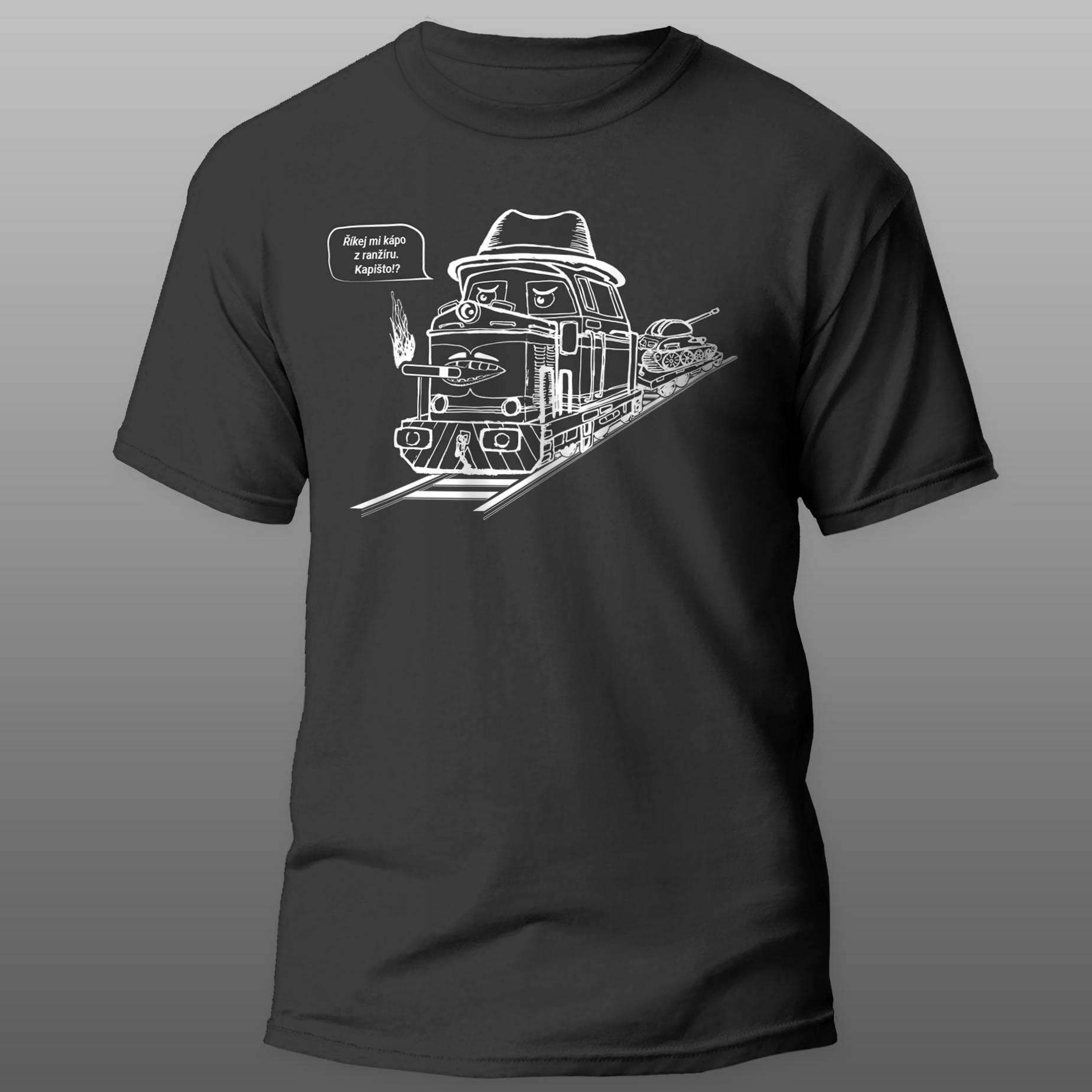 Mašinka na tričku